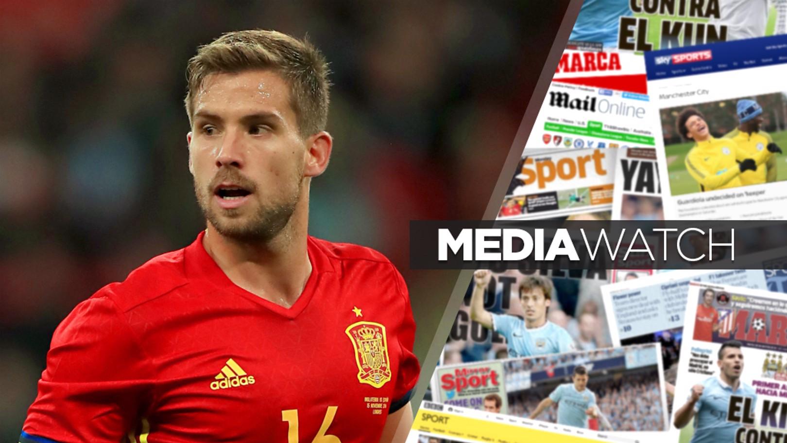 MEDIA WATCH: It's claimed City are keen on Spanish defender Inigo Martinez