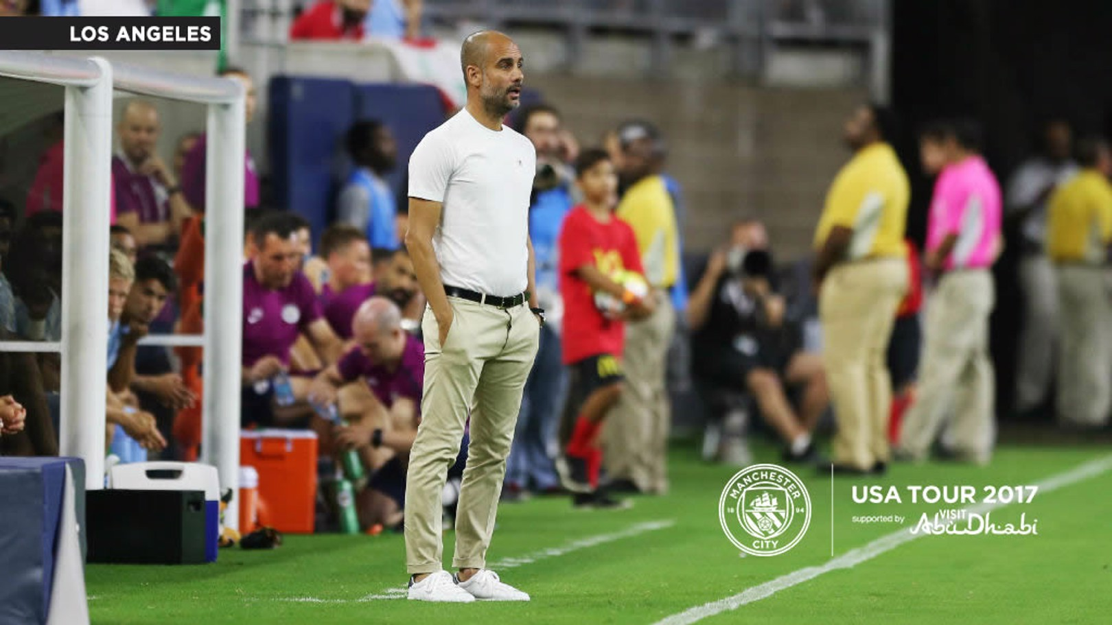 PEP GUARDIOLA: The boss has spoken ahead of the Real Madrid game