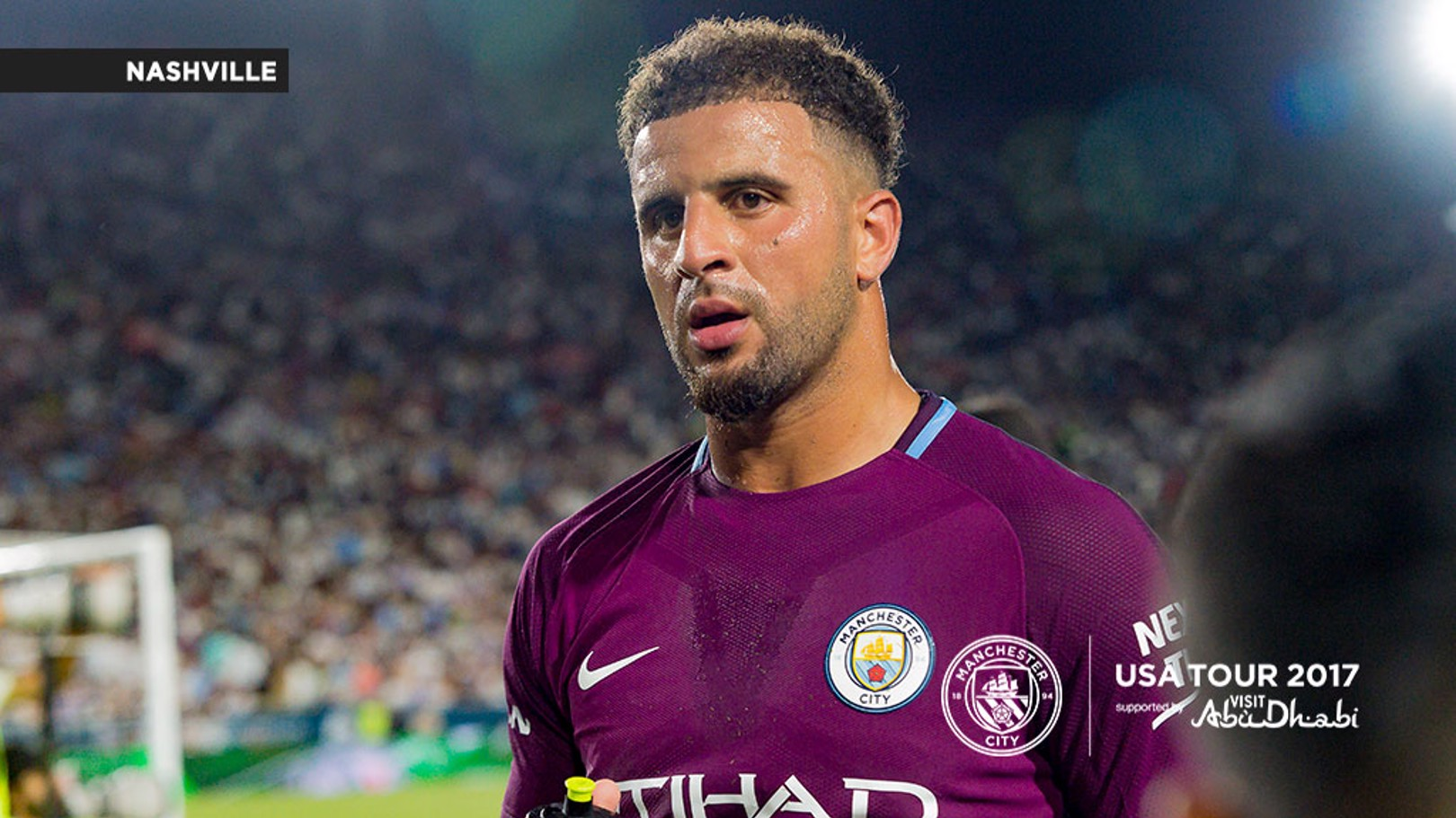 SUMMER SIGNING: Walker spent eight years at Spurs before sealing his move to City earlier in July.