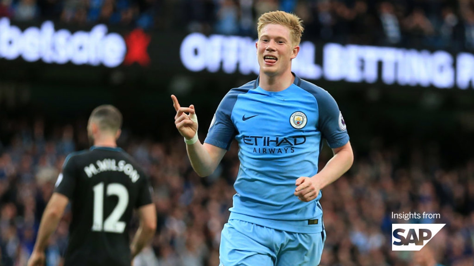 IN FOCUS: De Bruyne's 2016/17 stats make for good reading