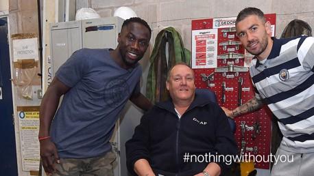 #NothingWithoutYou: Kolarov and Sagna