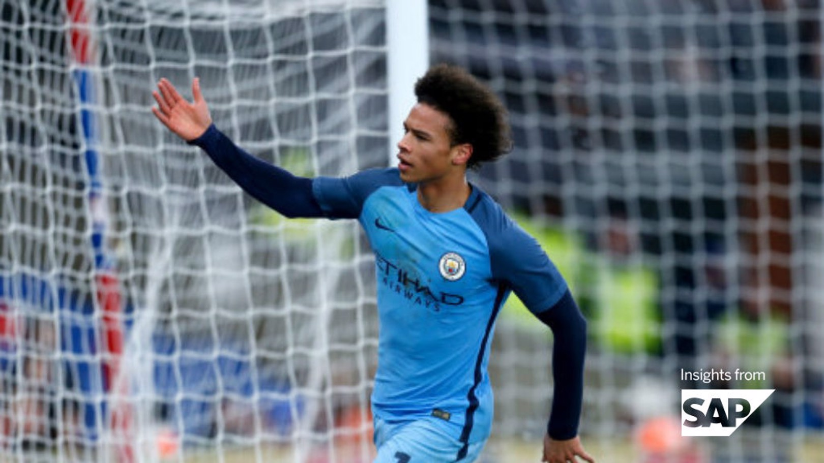 IN SANE: Leroy's first season at City was hugely impressive