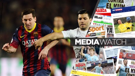 FRIENDS NOT REUNITED: Messi and Aguero are best of pals