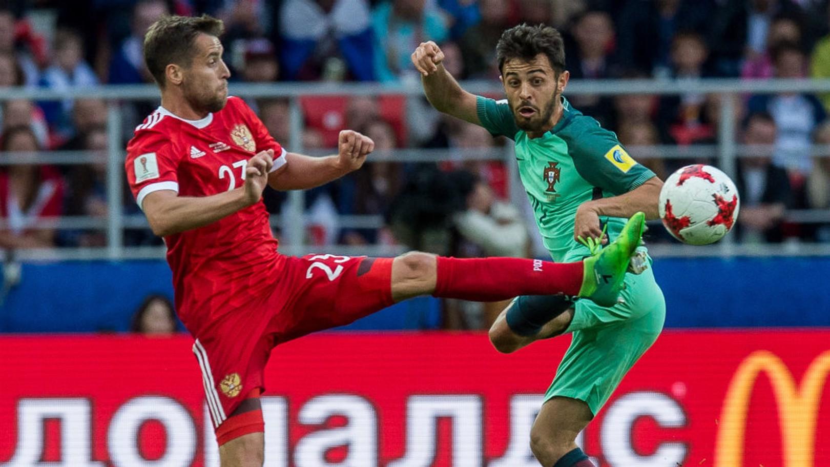 BERNARDO SILVA. El futuro jugador del City plasmó una sensacional actuación ante Rusia.
