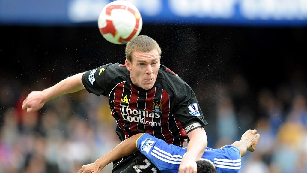 RICHARD DUNNE: Colossus in defence