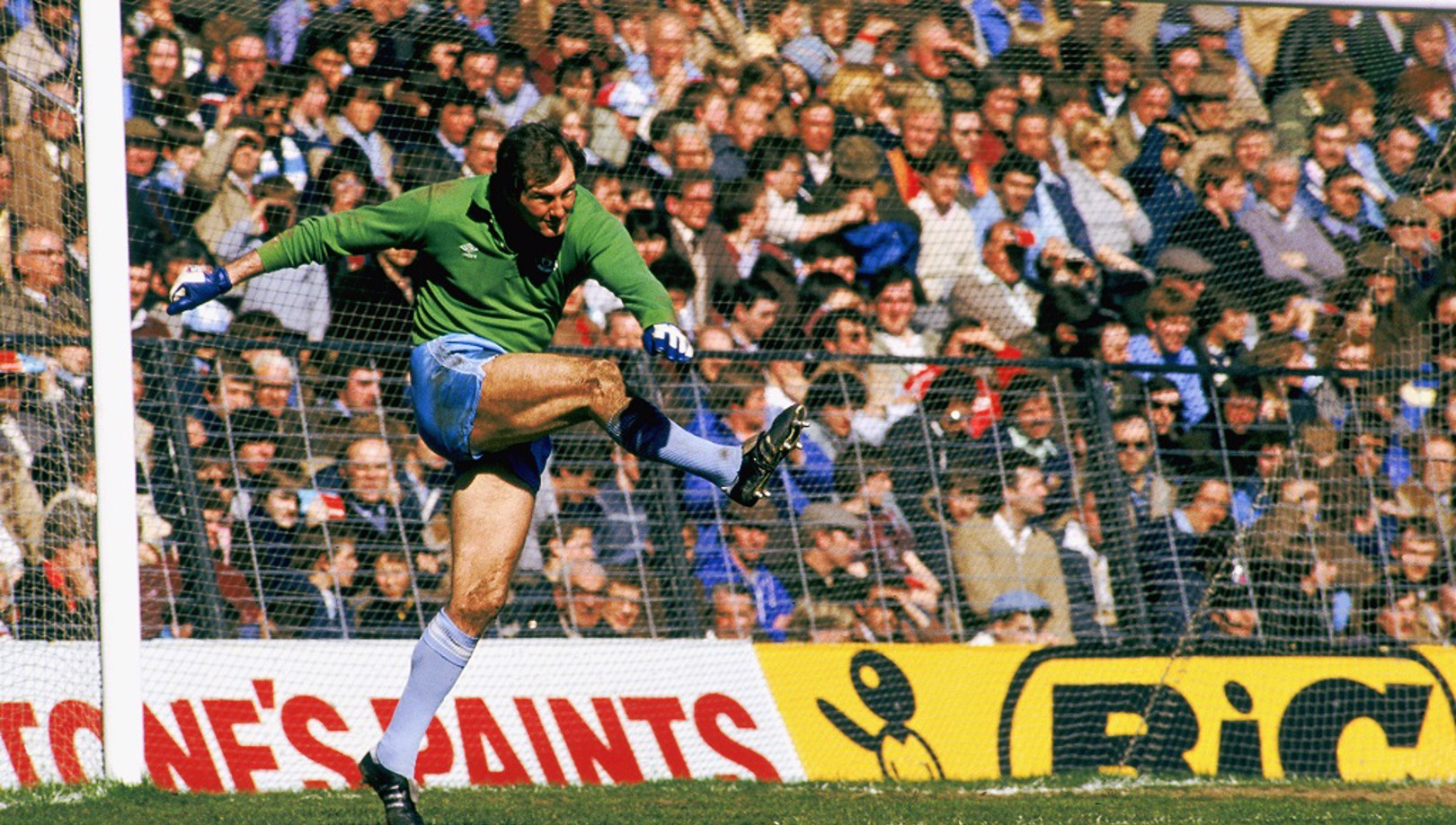 THREE TIME-WINNER: Joe Corrigan