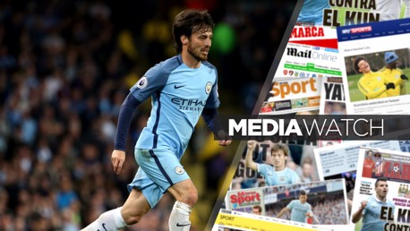 SILVA SERVICE: Davis is happy at City and wants t remain at the Etihad for a long time