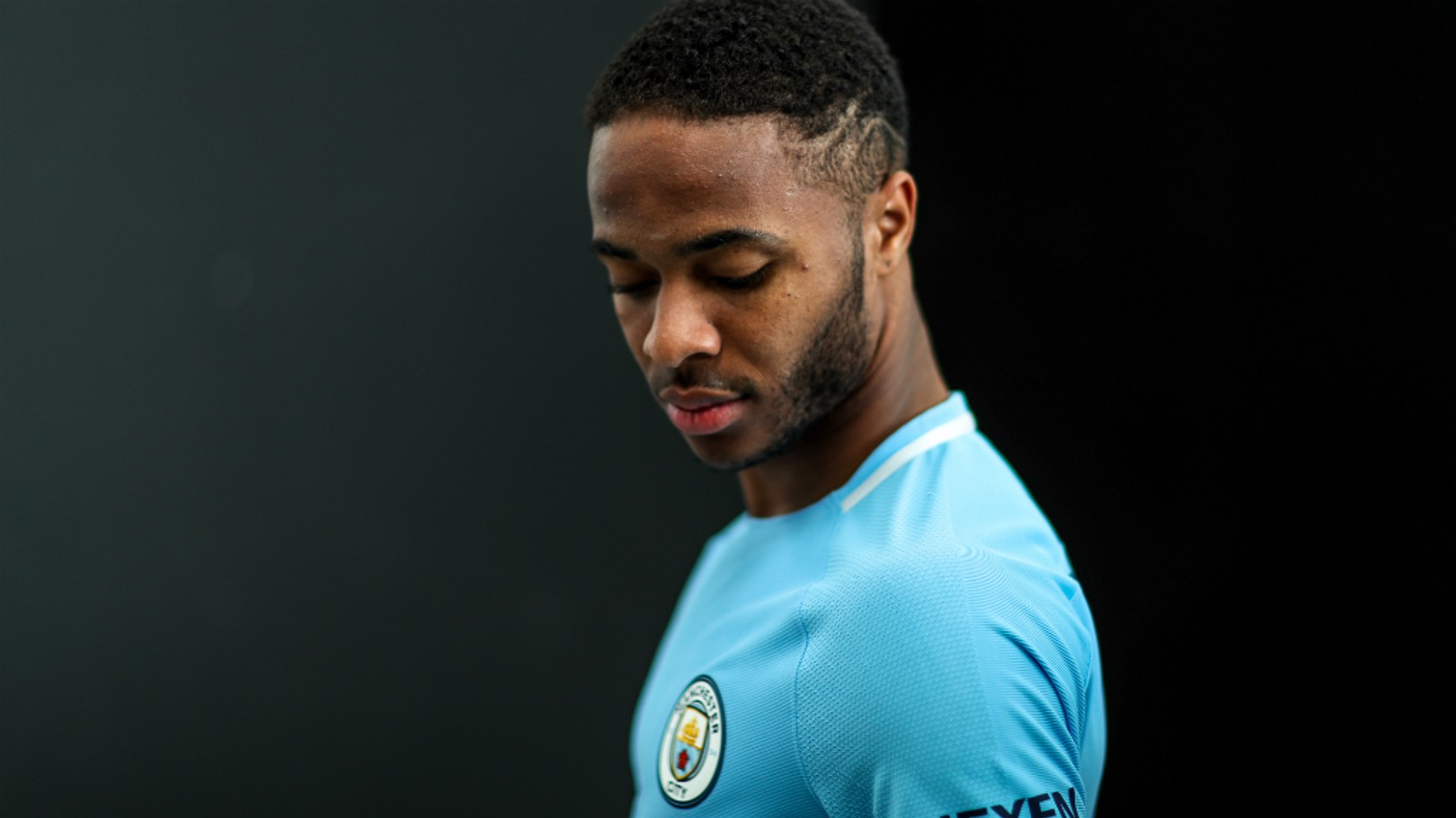 STERLING WORK: Raheem Sterling attributes his improved form to Pep Guardiola