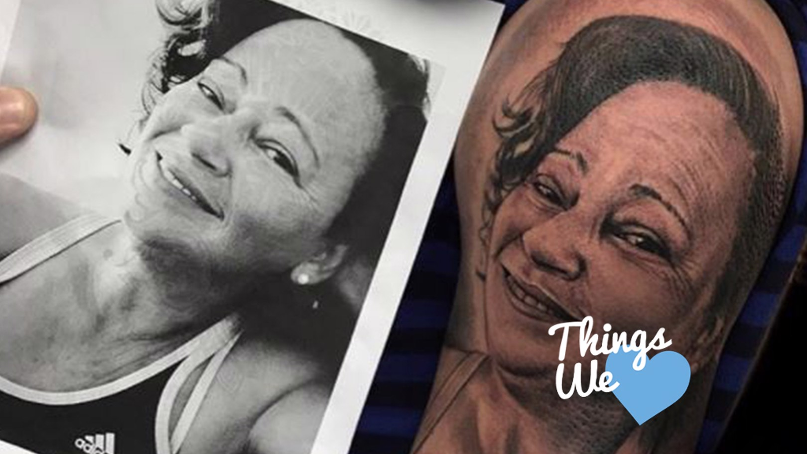 MOTHERLY LOVE: Gabriel Jesus shows off a recent tattoo of his mother