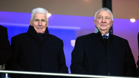 LEGENDS: Tony Book and Mike Summerbee recall the 1969 FA Cup final win.