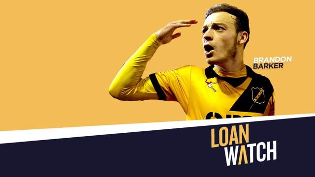 LEARNING: Brandon Barker on his NAC Breda loan spell.