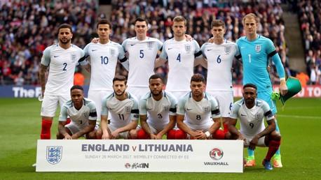 LINE-UP: England v Lithuania