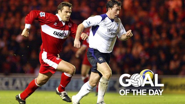 GOAL OF THE DAY: Robbie Fowler v Middlesbrough 2004