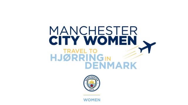 Man City Women: Fans travel to Denmark