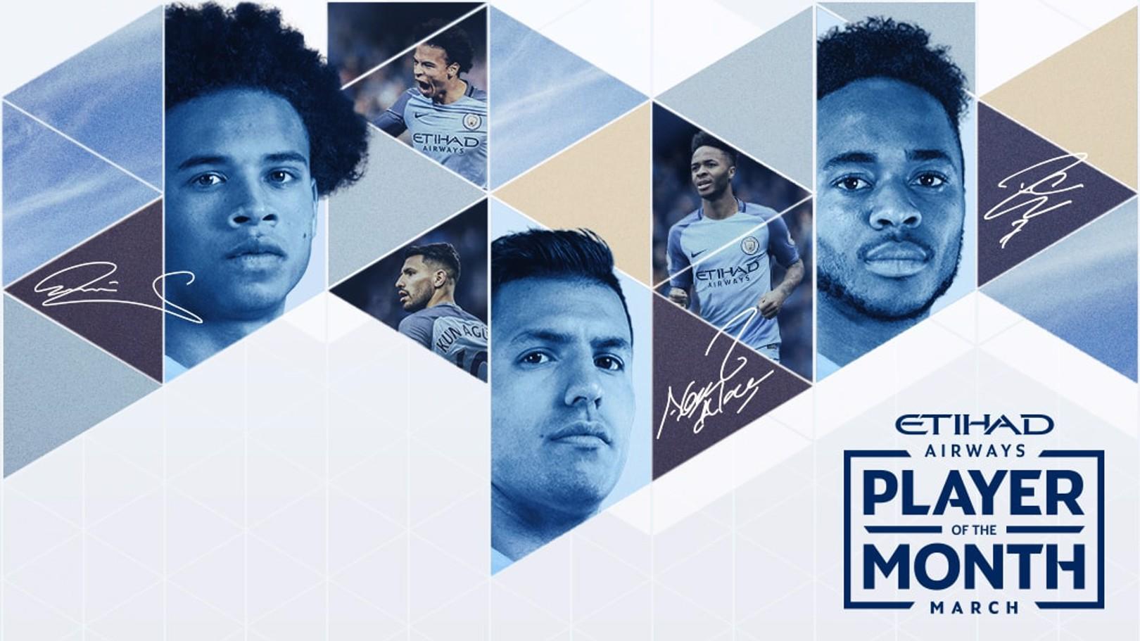 El jugador del mes: marzo