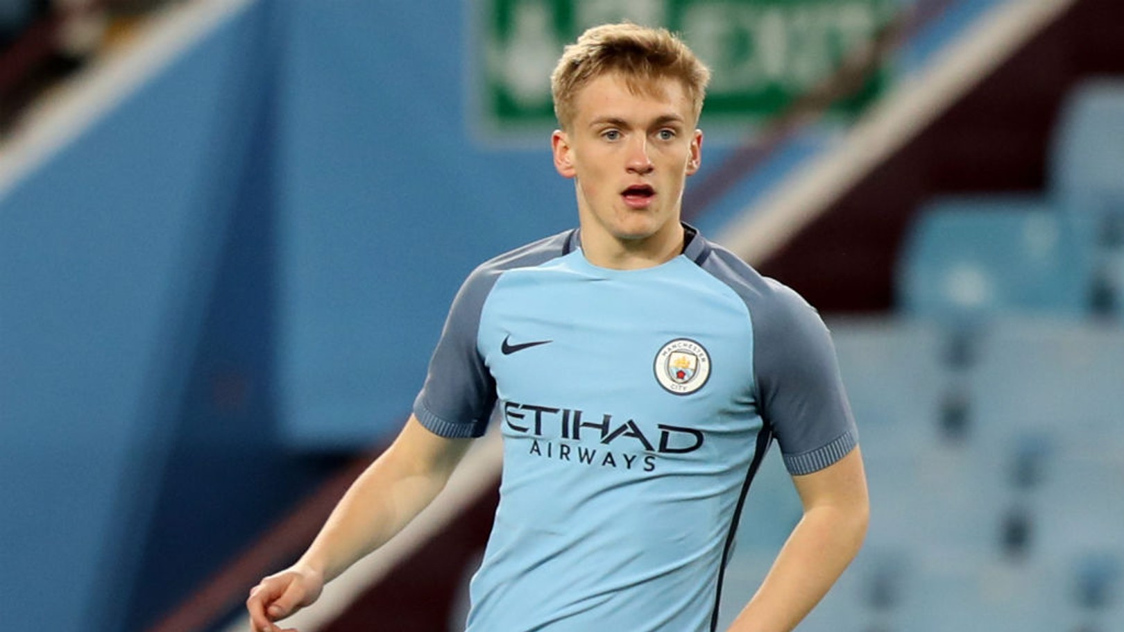 MATT SMITH: City's tough tackling Welsh youth international has impressed on his step up to Premier League 2 level