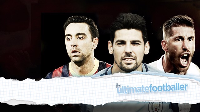 SUPER PLAYER: Xavi and Sergio Ramos make Nolito's ultimate footballer.