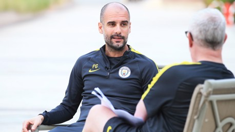 IN CONVERSATION: City boss Pep Guardiola speaks to our Editor-in-Chief Chris Bailey