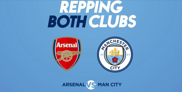 REPPING BOTH: Arsenal v City