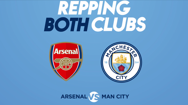 REPPING BOTH: Arsenal v City