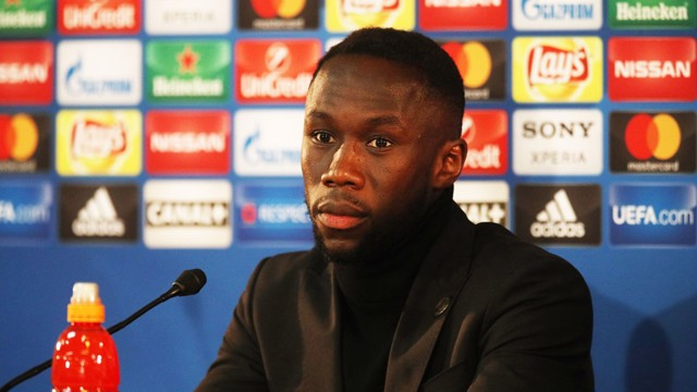 PRESS CONFERENCE: Bacary Sagna addresses the media ahead of Monaco v City