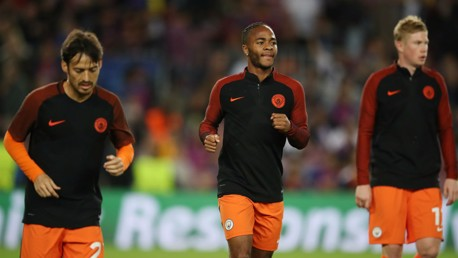INTERNATIONAL TRIO: Silva, Sterling and De Bruyne will all feature for their national sides