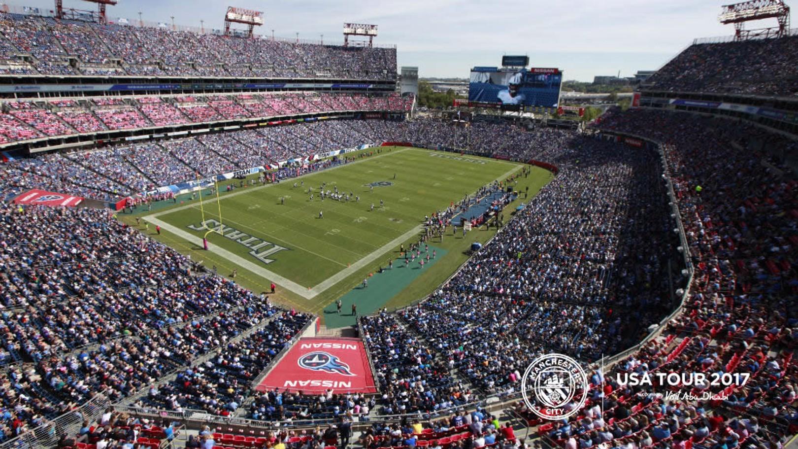 NISSAN STADIUM: City will take on Spurs in Nashville