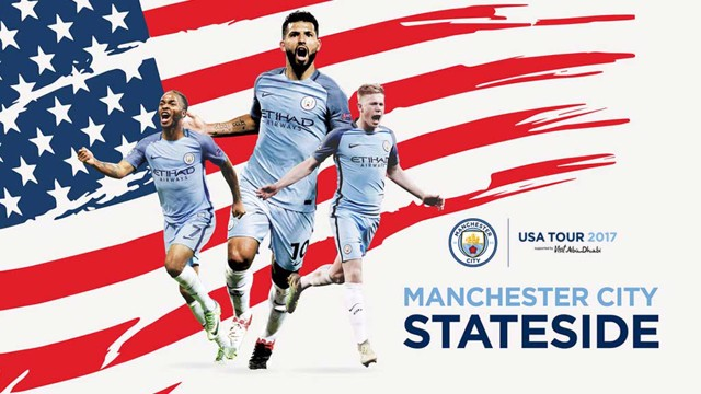 US BOUND: Man City will travel to the States in summer 2017