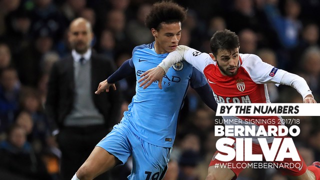 BY THE NUMBERS: Bernardo Silva's career in numbers