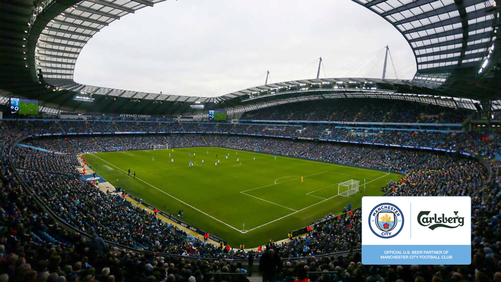 Man City team up with Carlsberg for US Tour