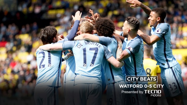 CITY BEATS: Watch the free scoring Blues net five against Watford.