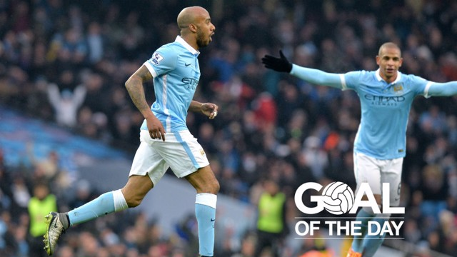 STRIKER: What a goal from Fabian Delph back in 2016