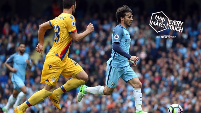 EVERY TOUCH: Check out David Silva's performance against Crystal Palace with our latest feature!
