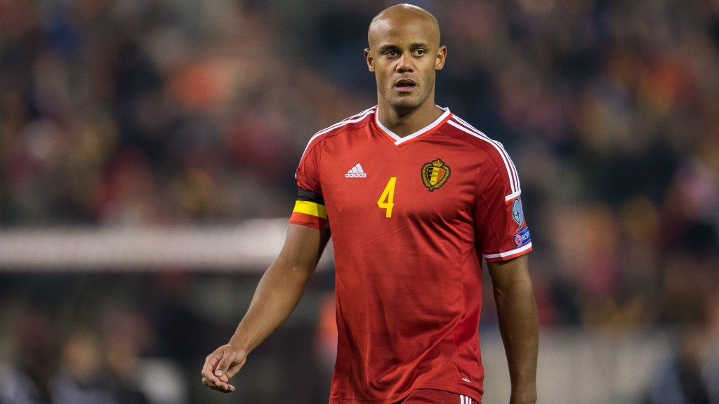 ed3a95bb1 KOMPANY RECALLED  The 31-year old is back in the Belgium squad for their