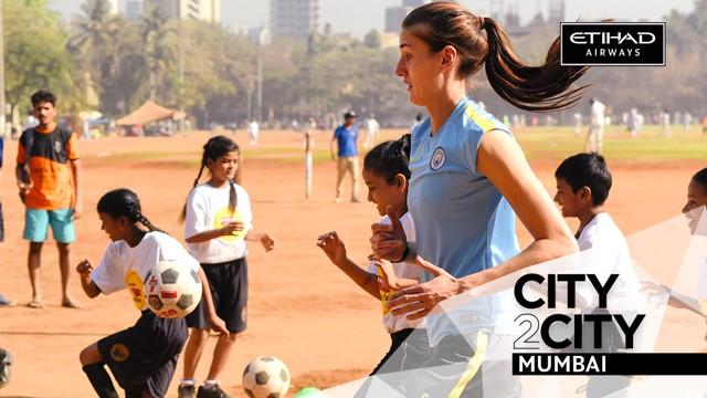 CITY2CITY: Jill Scott visits Mumbai with Etihad Airways.