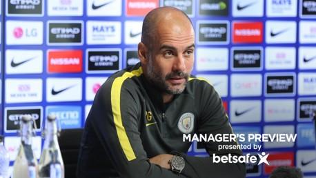 Guardiola discusses Aguero and Jesus options