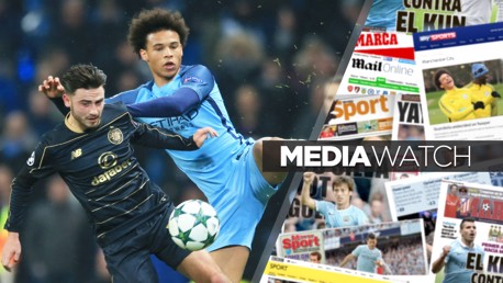 ROBERTS: City's winger faced his parent club in the Champions League in December 2016
