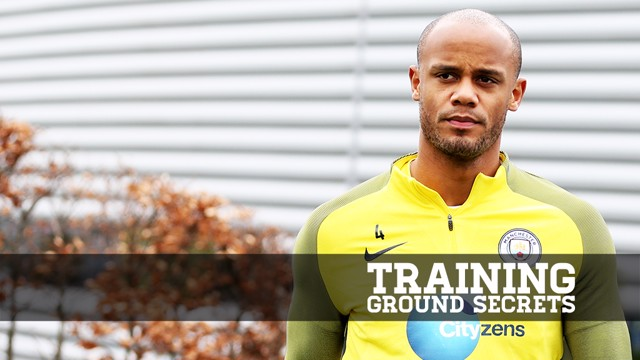 TRAINING GROUND SECRETS: Vincent Kompany