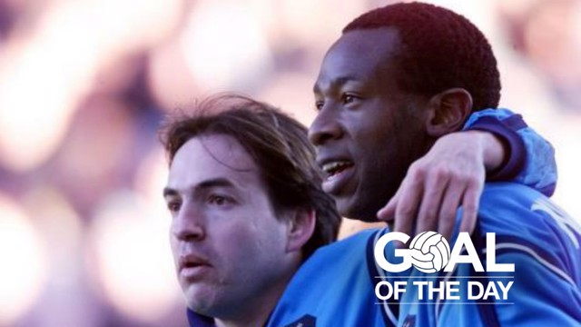 STRIKER: Wanchope put City on their way to a vital 2-1 win away at Watford in 2002