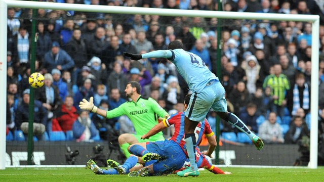 GOLDEN GOALS: City's best strikes against Crystal Palace.