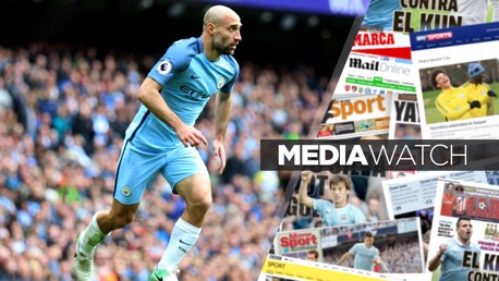 LEGEND: Pablo Zabaleta will leave City at the end of the season