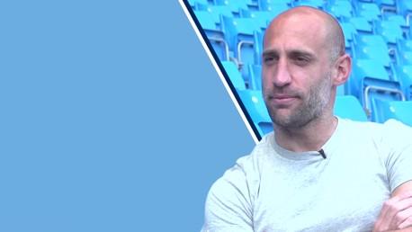 Zabaleta's final City interview