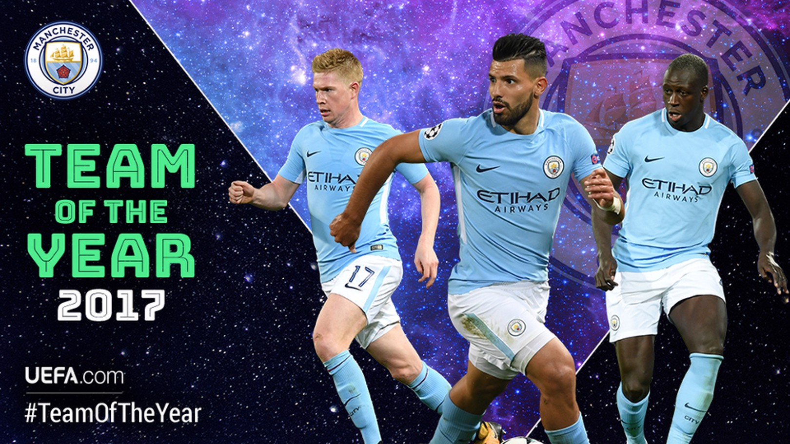 SHORTLISTED: Three of our players have made the shortlist of 50 for the Uefa Team of the Year.