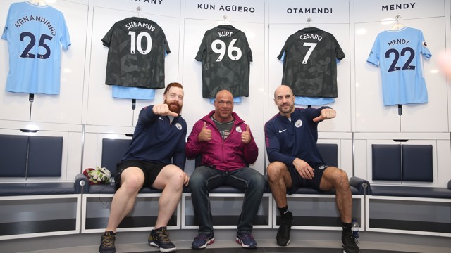 THE BAR: Sheamus, Cesaro and Kurt Angle of WWE Raw invade Manchester City