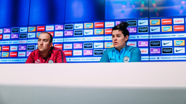 PREVIEW: Nick Cushing and Jen Beattie look ahead to City's Champions League clash v LSK Kvinner.