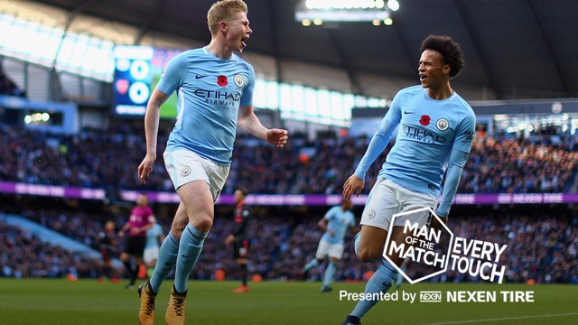 EVERY TOUCH: KDB v Arsenal