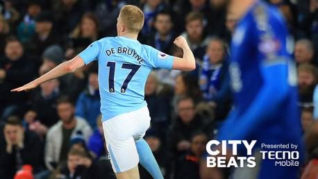 City Beats: Leicester 0-2 Man City