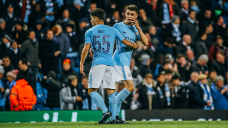 EURO STARS: Diaz and Foden made their Champions League debuts against Feyenoord on Tuesday