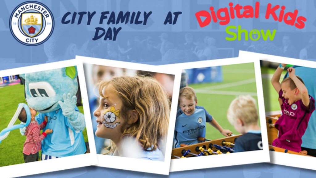 ON TOUR: City Family Day will be at the Digital Kids Show.