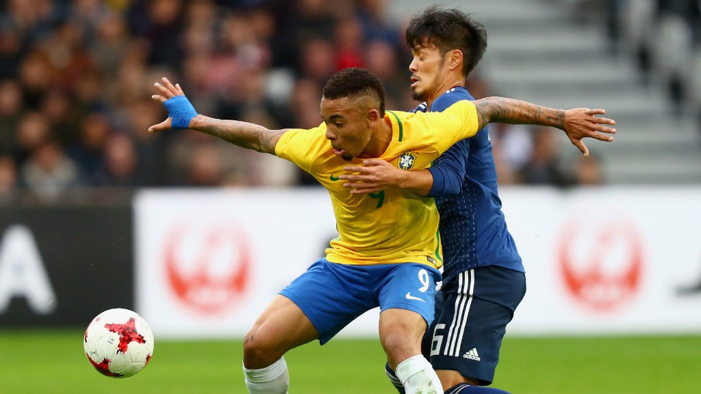 Too Hot To Handle Gabriel Jesus Holds Off Japans Hotaru Yamaguchi
